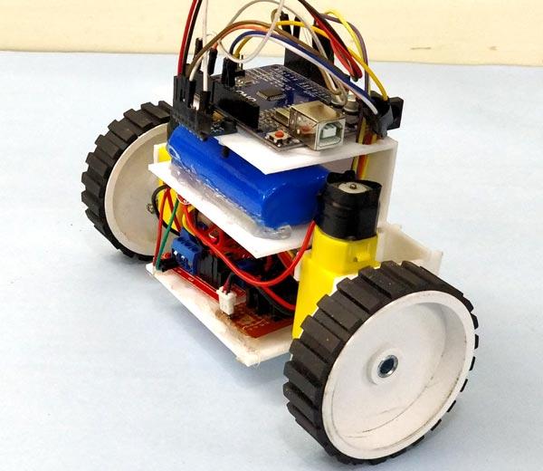 Тестирование работы робота