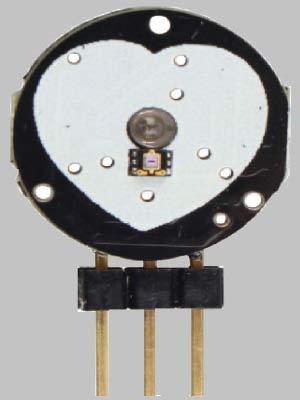 Передняя часть датчика пульса