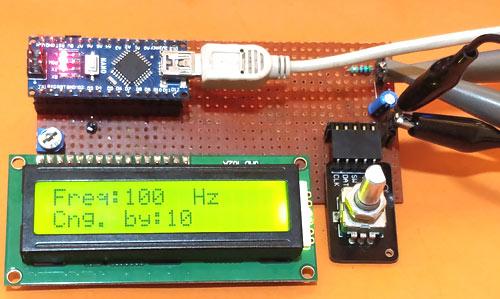 Тестирование работы генератора сигналов
