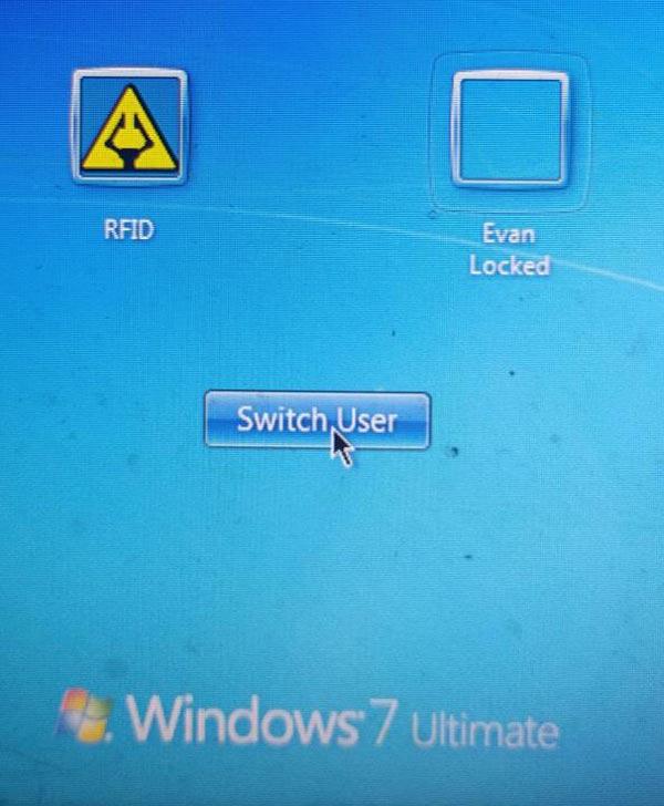 В системе появился еще один пользователь - с именем RFID