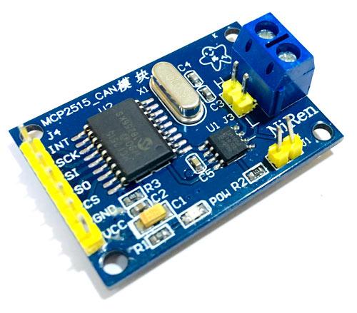 Внешний вид контроллера шины CAN MCP2515
