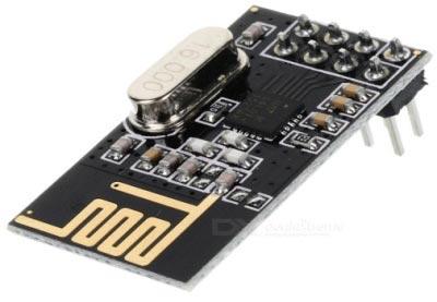 Внешний вид модуля NRF24L01