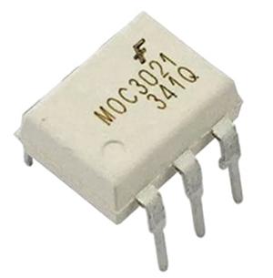 Внешний вид оптопары MOC3021