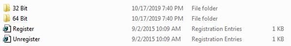 Копирование необходимых файлов в системный каталог Windows
