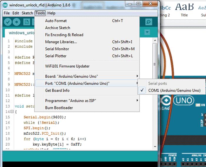 Определение COM порта с помощью Arduino IDE