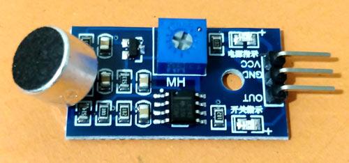 Внешний вид модуля акустического датчика