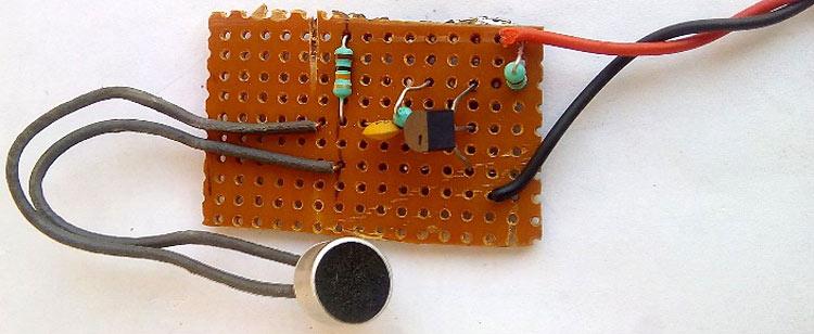 Самодельная микрофонная цепь для нашей радиостанции