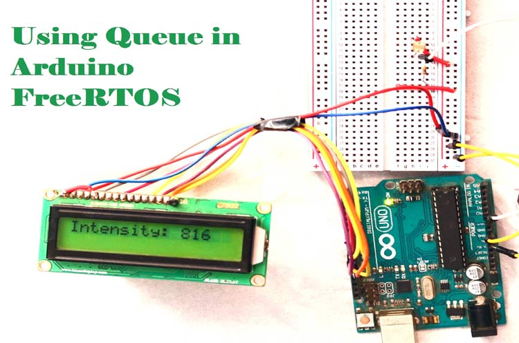 Использование очередей в Arduino FreeRTOS