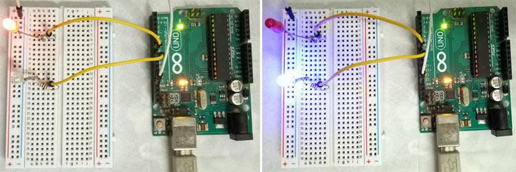 Пример мигания светодиодов с помощью функций FreeRTOS в Arduino