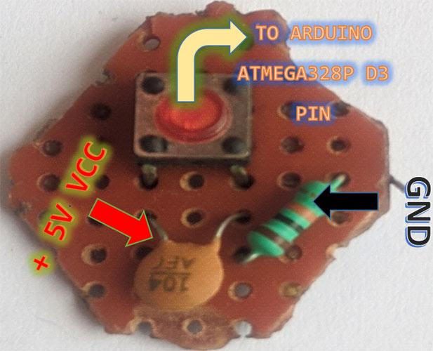 PTT кнопка для нашей радиостанции