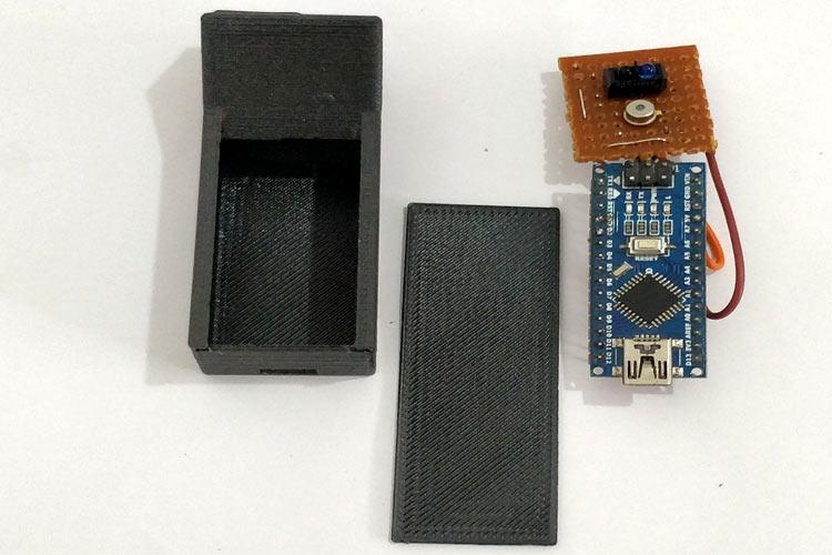Внешний вид изготовленного корпуса для термометра