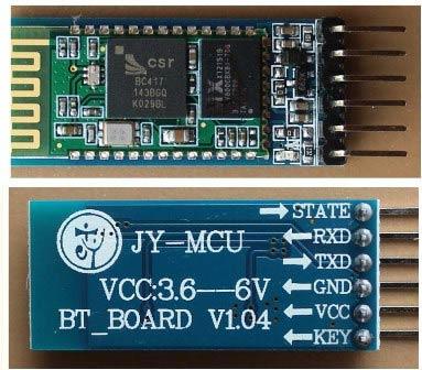 Внешний вид Bluetooth модуля HC05