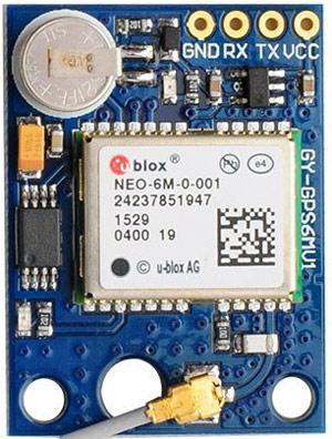 Назначение контактов (распиновка) GPS модуля NEO6M