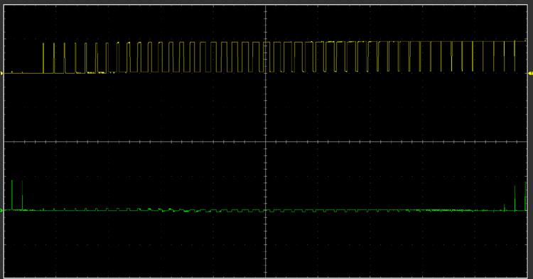 Выходной сигнал с платы Arduino в высоком разрешении