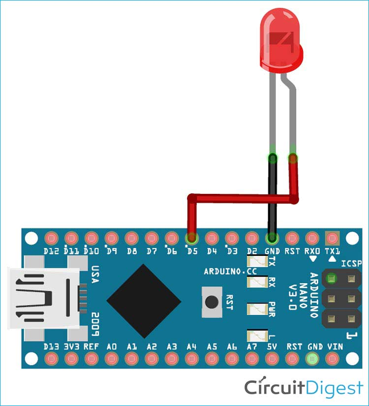 Схема проекта распознавания речи на основе платы Arduino Nano 33 BLE Sense