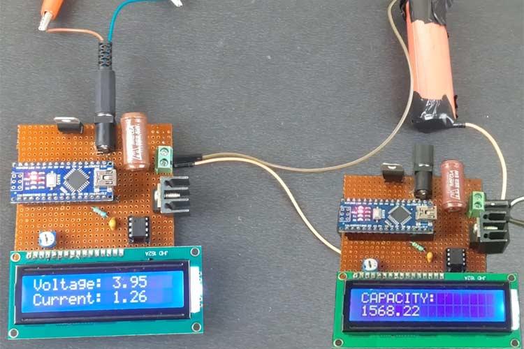 Внешний вид тестера емкости литиевых аккумуляторов 18650 на основе Arduino