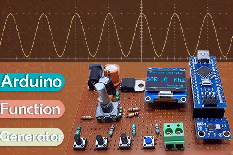 Внешний вид генератора сигналов на Arduino и DDS модуле AD9833