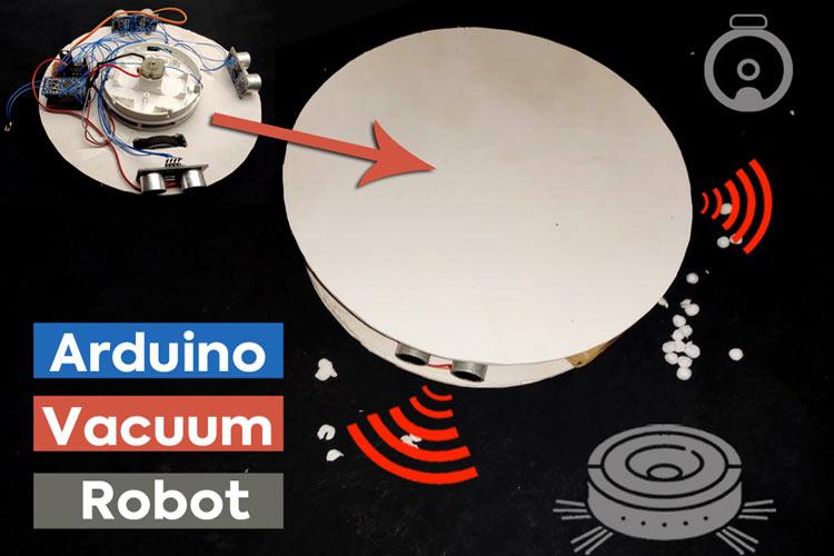 Внешний вид робота-пылесоса на основе платы Arduino