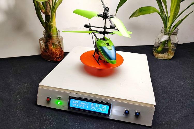 Тестирование работы электронных весов