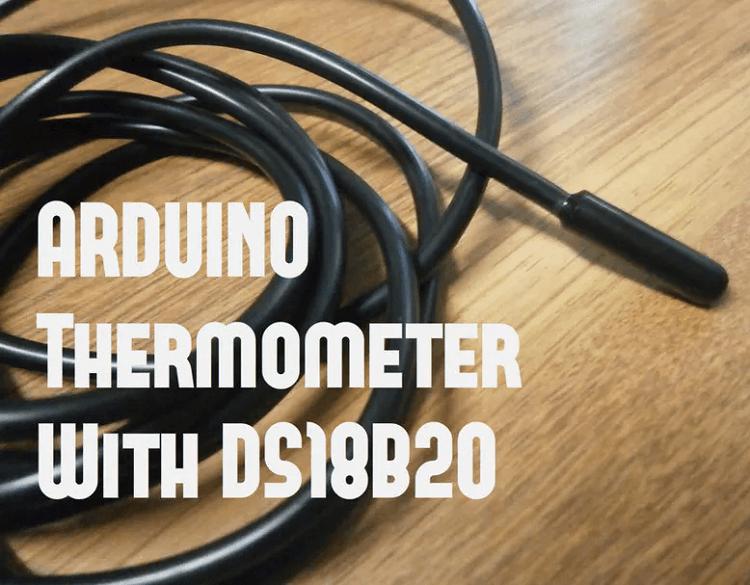 Проект термометра на Arduino и датчике температуры DS18B20