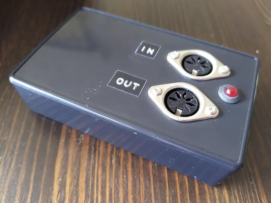 Внешний адаптера USB в MIDI на основе платы Arduino