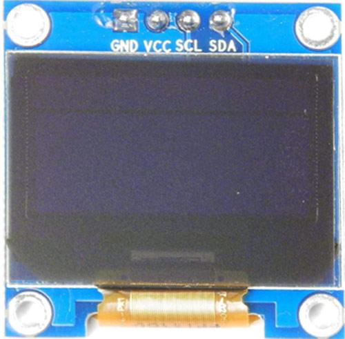 Внешний вид OLED дисплея