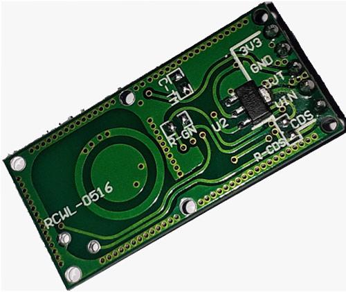 Внешний вид доплеровского датчика движения RCWL-0516