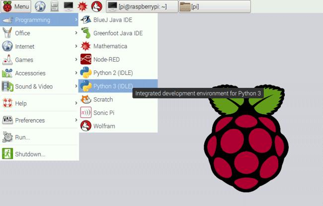 Запуск Python 3 в Raspberry Pi