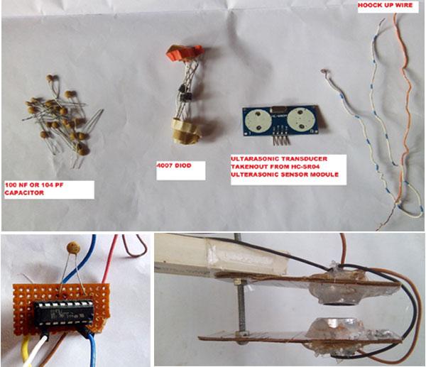 Последовательность сборки проекта ультразвуковой левитации на Arduino