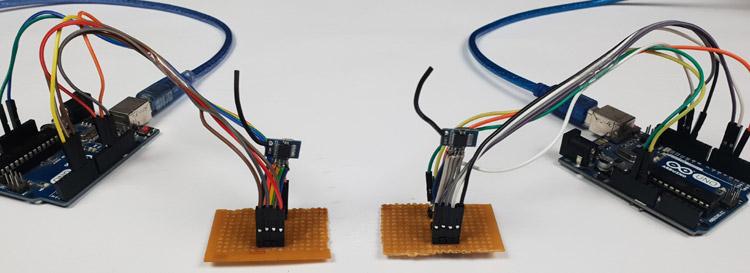 Подключение радиочастотных модулей к платам Arduino
