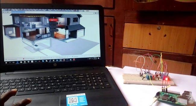 Тестирование работы проекта автоматизации дома