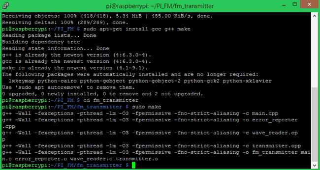 Процесс компиляции программы завершен