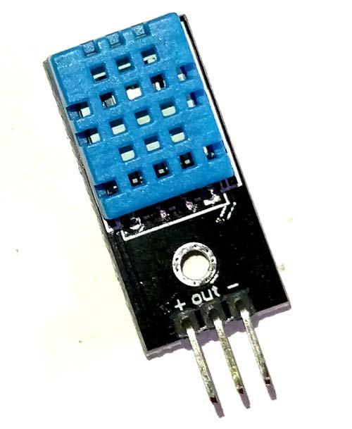 Внешний вид датчика DHT11