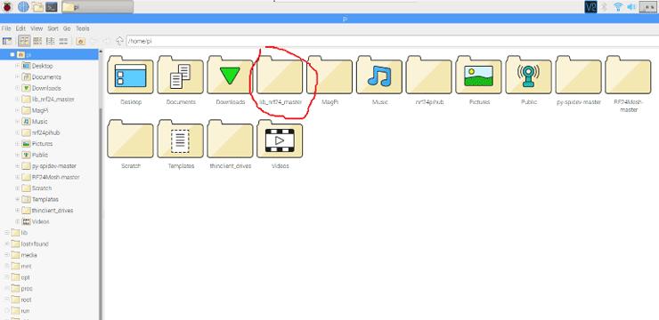 Выделение отдельного каталога для хранения всех файлов проекта