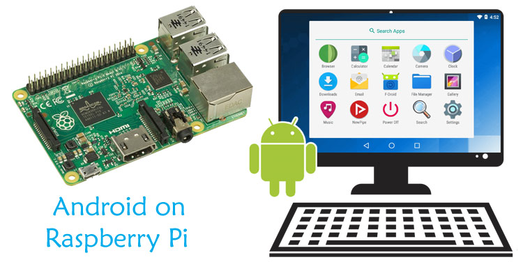 Внешний вид проекта по установке Android на Raspberry Pi