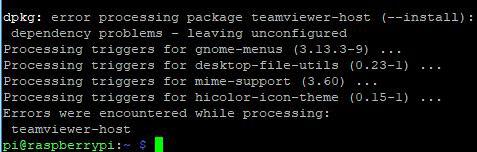 Устранение ошибок после установки TeamViewer