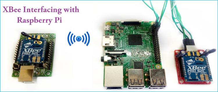 Внешний вид проекта подключения модуля XBee к плате Raspberry Pi