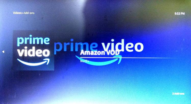 Установка аддона Amazon Prime Video