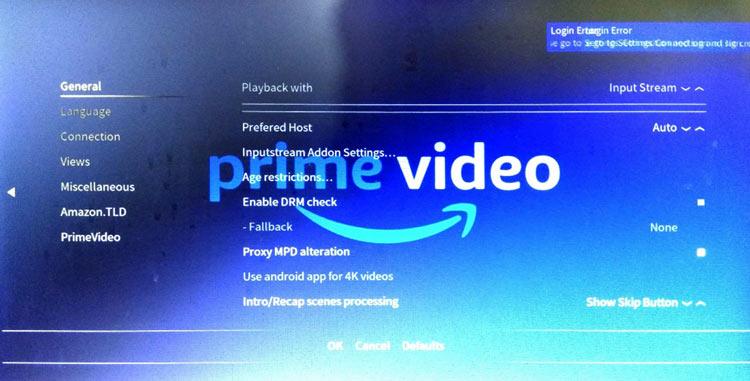 Вход в свой аккаунт на Amazon Prime Account