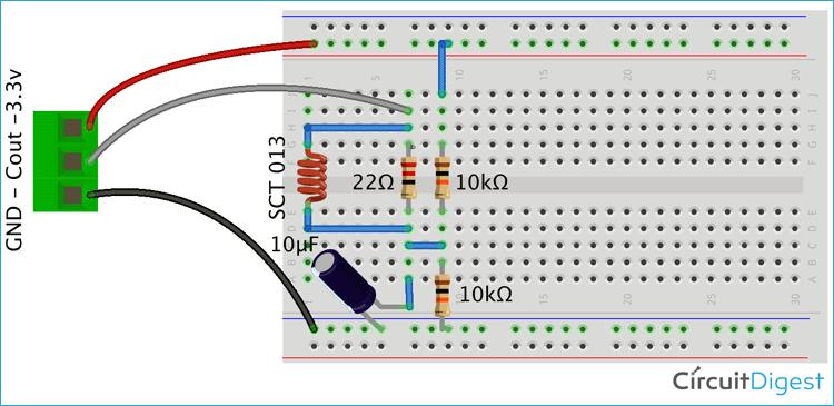 Схема блока измерения тока