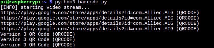 Извлечение данных из QR кода