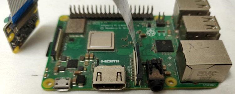 Подключение камеры к Raspberry Pi