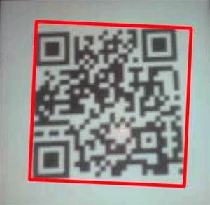 Рисование границ QR кода на изображении