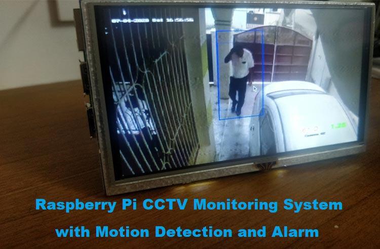 Внешний вид проекта обнаружения движения на видео с помощью Raspberry Pi и OpenCV