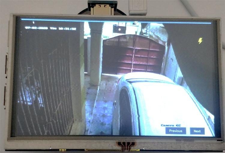 Тестирование трансляции видеопотока на плату Raspberry Pi