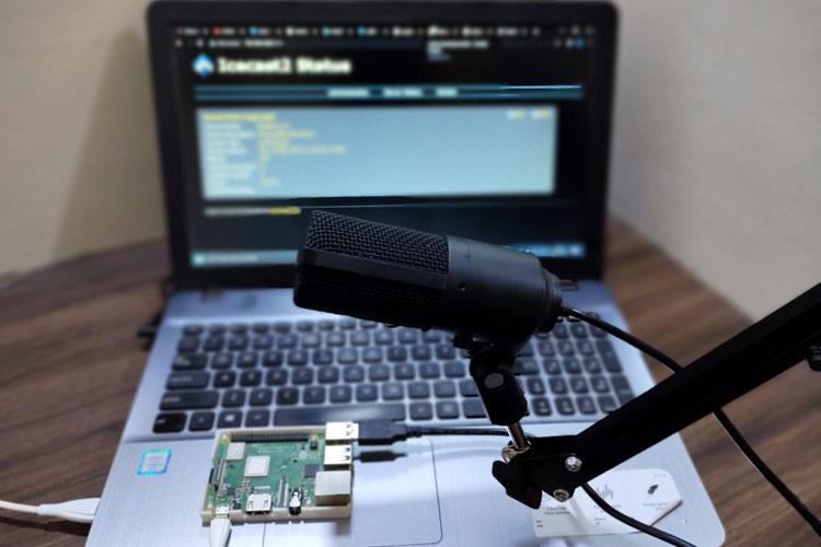 Внешний вид проекта интернет радио и станции стриминга на Raspberry Pi