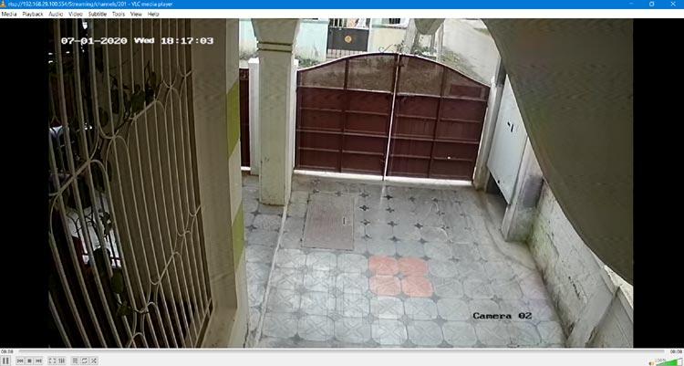 Трансляция видеопотока с видеорегистратора в плеере VLC