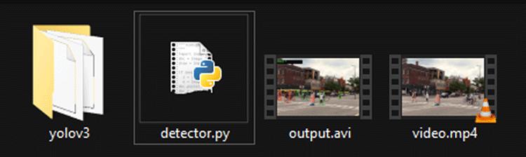 Расположение всех компонентов проекта в одном каталоге