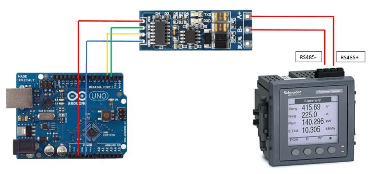 Считывание информации с датчиков в Arduino по протоколу Modbus: общие принципы