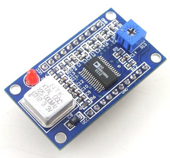 Внешний вид DDS модуля AD9850